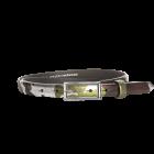 Gürtel Plated I 3049 - 20 mm - Rindleder, Comouflage / Metall - silber