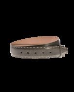 Gürtelriemen - Rindleder, glatt - grau - 40 mm