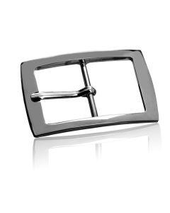 Gürtelschnalle Gleamy - silber poliert - 40 mm