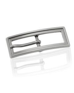 Gürtelschnalle Gap - silber poliert - 15 mm