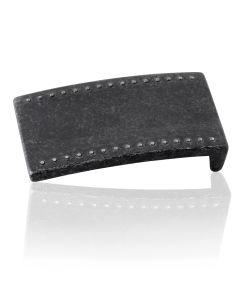 Gürtelschnalle Table - schwarz - 40 mm