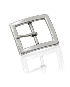 Gürtelschnalle Axam - silber poliert - 30 mm