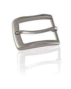 Gürtelschnalle Gray - silber antik - 40 mm