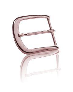 Gürtelschnalle London - roségold poliert - 35 mm