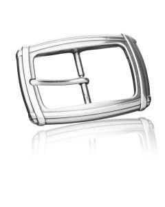 Gürtelschnalle Bristol - silber geschwärzt - 35 mm