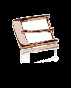 Gürtelschnalle Florenz - bronze poliert - 30 mm