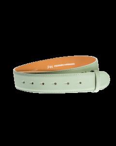 Gürtelriemen - Rindleder, glatt - mintgrün - 40 mm