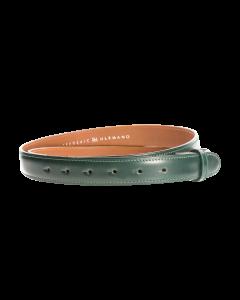 Gürtelriemen - Rindleder, glatt - dunkelgrün - 30 mm