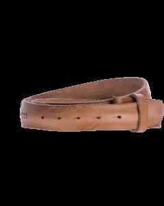 Gürtelriemen - Rindleder, glatt - schlamm - 40 mm