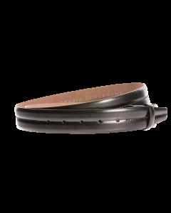 Gürtelriemen - Rindleder - schwarz - 35 mm