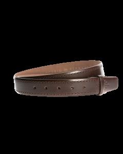 Gürtelriemen - Rindleder, glatt - dunkelbraun - 35 mm