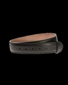 Gürtelriemen - Rindleder, glatt - schwarz - 40 mm