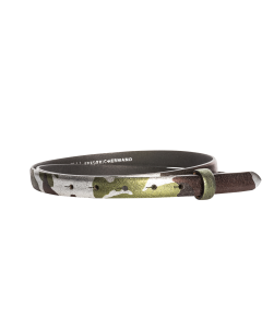 Gürtelriemen - Rindleder - Camouflage - 20 mm
