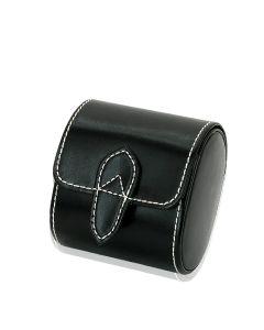 Uhrenbox London - schwarz - eine Uhr
