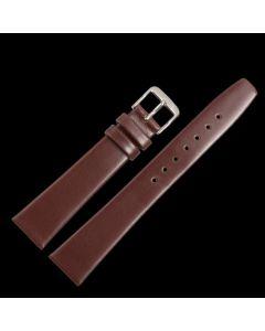 Marburger M710 Uhrenarmband Rindleder dunkelbraun