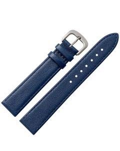 Marburger M759 Uhrenarmband Rindleder dunkelblau