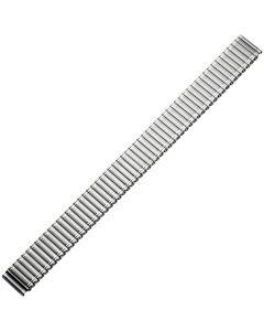 Uhrband - Edelstahl - silber - 14 mm