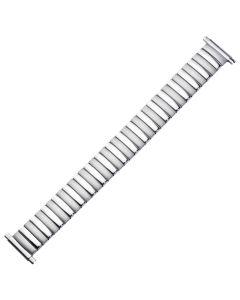 Uhrband - Edelstahl - silber - 10 bis 14 mm