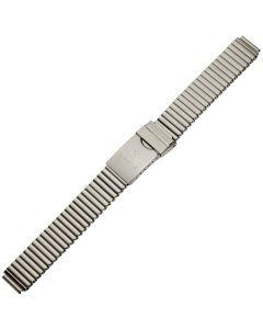 Uhrband - Edelstahl - titanfarbig - 12, 14 & 16 mm