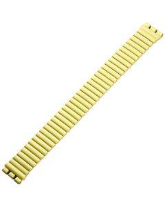 Uhrband - Edelstahl - gelb - 17 mm