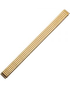 Uhrband - Edelstahl - XL - gold - 14 mm