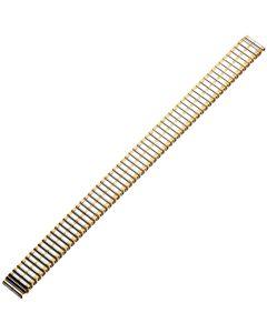 Uhrband - XL Edelstahl - silber / gold - 12, 14 & 16 mm