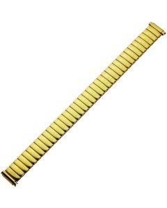 Uhrband - Edelstahl - gold - 10 bis 14 mm
