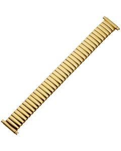 Uhrband - Edelstahl - gold - 16 bis 22 mm