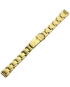 Uhrband - Edelstahl - gold - 12, 14 & 16 mm