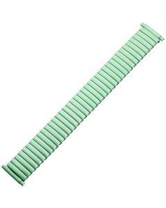 Uhrband - Edelstahl - grün - 16 bis 22 mm
