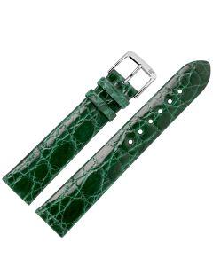 Marburger M834 Uhrenarmband Krokodilleder dunkelgrün