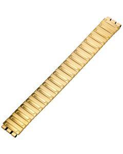 Uhrband - Edelstahl - gold - 17 mm