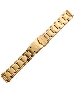 Uhrband - Edelstahl - gold - 18 & 20 mm