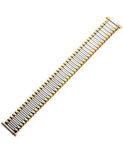 Uhrband - XL Edelstahl - silber / gold - 16 bis 22 mm