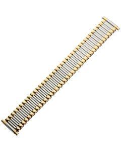 Uhrband XS - Edelstahl - silber / gold - 16 bis 22 mm