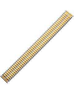 Uhrband - Edelstahl - gold / silber - 18 & 20 mm