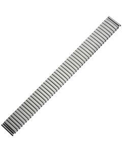 Uhrband - Edelstahl - titanfarbig - 18 & 20 mm