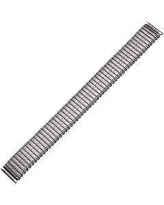 Uhrband - Edelstahl - silber - 16 mm