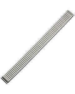 Uhrband - Edelstahl - XL - silber - 16 mm