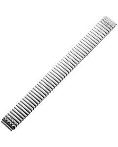 Uhrband - Edelstahl - silber - 16 & 18 mm