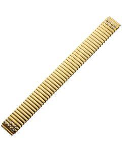 Uhrband - Edelstahl - gold - 16 & 18 mm