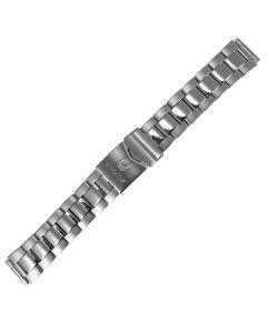 Uhrband - Edelstahl - silber - 18, 20 & 22 mm