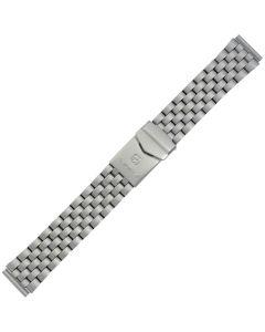 Uhrband - Edelstahl - titanfarbig - 18, 20 & 22 mm
