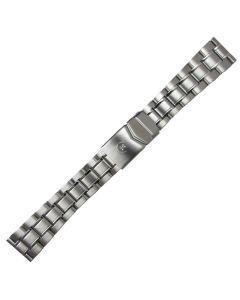 Uhrband - Edelstahl - silber - 20 mm