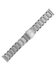 Uhrband - Edelstahl - silber - 20, 22 & 24 mm