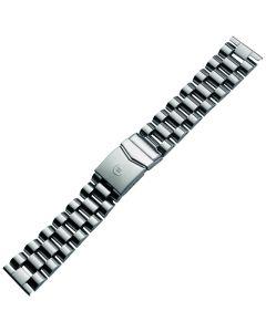 Uhrband - Edelstahl - silber - 22 mm